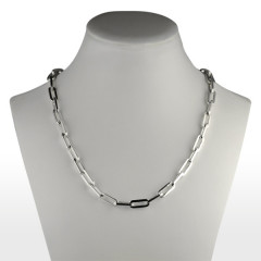 Collier Argent RECTANGLE-HL 50cm