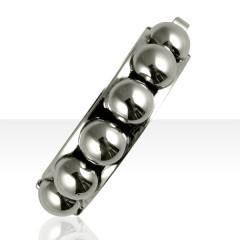 Bracelet Argent BOULES RIGIDES