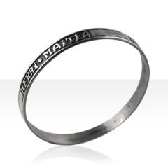 Bracelet Argent RIGIDE HERRI MAITEA D63