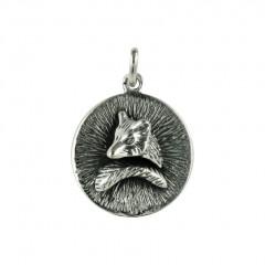 Médaille Argent RONDE GM/RENARD