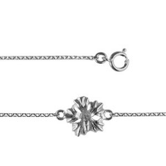 Bracelet Argent 1 HIBISCUS MM
