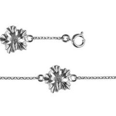 Bracelet Argent 3 HIBISCUS MM