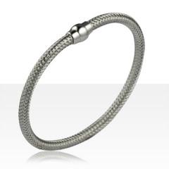 Bracelet Argent tressé MAGNETIK  -Magnetik argent