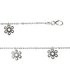 Bracelet Argent 5 MARGUERITES DEC PP