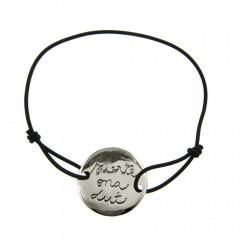 Bracelet Argent LASTIC GRAFFITI - Suerte