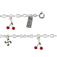 "Bracelet Argent ""ITXASSOU/LAUBURU"" 5 PP"