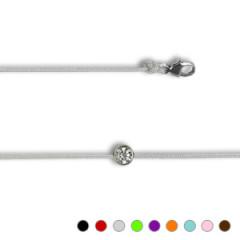 Bracelet Argent NILA OOZ D40 bouée