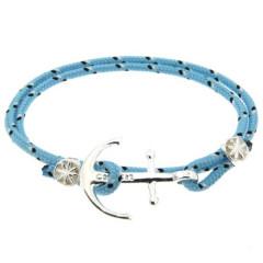 Bracelet Argent Ancre CAP COZ double- ciel