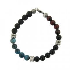 Bracelet Argent ANTIKA D8 Multi pierres