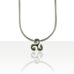Collier Argent QDR25/TRISKELL VOL PM PASS