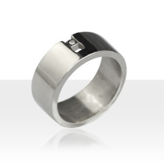 Bague ECLAT Argent Diamant U