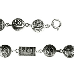 Bracelet Argent CELTIQUE ROND