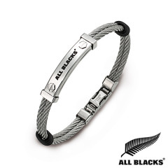 Bracelet Acier DB CABLE CARTOUCHE ALL BLACKS