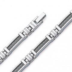 Bracelet  ACIER CABLE
