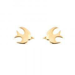 Boucles d'oreilles Plaqué Or OP COLOMBE D'USSAT
