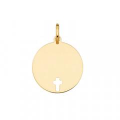 Médaille CROIX AJOUREE Or 750°°°