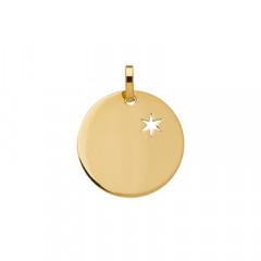 Médaille ETOILE DU BERGER Or 750°°°