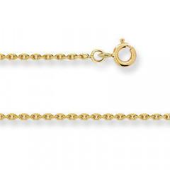 Chaine FORCAT Or 375°°° Diamantée 1,4MM - 45cm