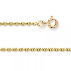 Chaine FORCAT Or 375°°° Diamantée 1,7MM - 50cm