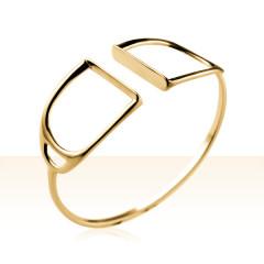Bracelet Plaqué Or JONC ETRIER GM