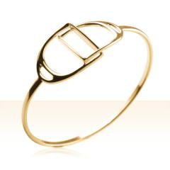 Bracelet Plaqué Or JONC ETRIER ENTREL PM