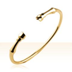 Bracelet Plaqué Or JONC SABOTS