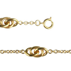 Bracelet Plaqué Or 3 ESCLAVES GM