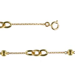 Bracelet Plaqué Or 3 ESCLAVE PM/2B5