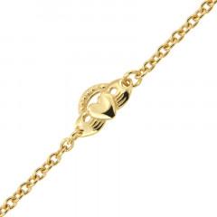 Bracelet Plaqué Or FR80 Motif SIGNE DE FOI PM