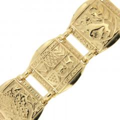 Bracelet Plaqué Or 6 PAYS CELTES PM