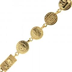 Bracelet Plaqué Or CELTIQUE ROND