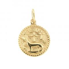 Médaille Plaqué Or HERMINE/DUCHE DE BRETAGNE