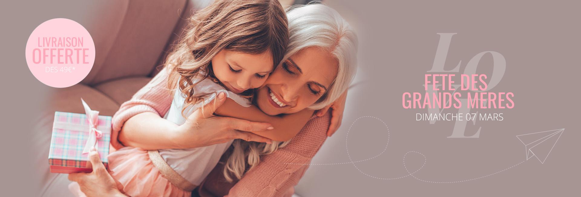 Dimanche 07 Mars, c'est la fête des grands meres, comblez la avec un bijou ... Traditionnel, classique ou même personnalisé, choisissez le bijou idéal pour votre grand-mère.