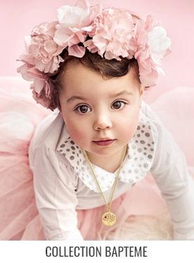 Bijoux bapteme, medaille bapteme et gourmette bébé, de nombreuses idées cadeau pour cet évènement ou cadeau de naissance + vos frais de ports dés 100€ d'achats