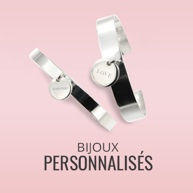 Bijoux personnalisables Argent massif : jonc medaille, bracelets a graver, pendentif cassolette, bague medaille, graver le pour le rendre unique